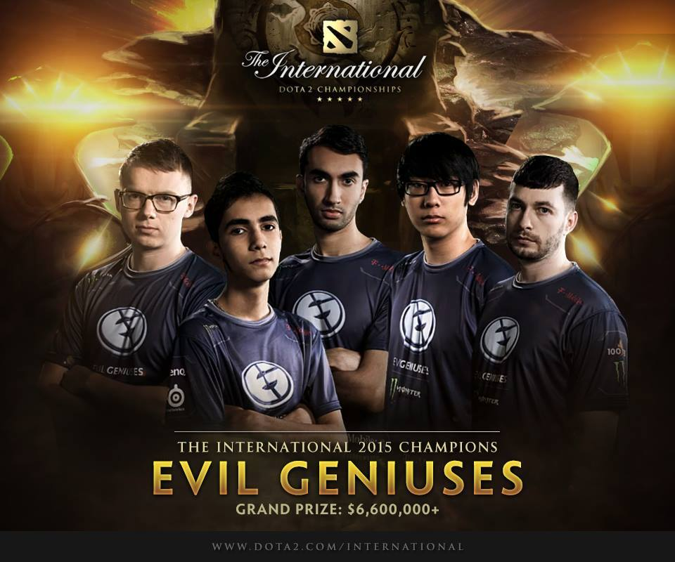 EG wins against CDEC to become the TI5 Champions
