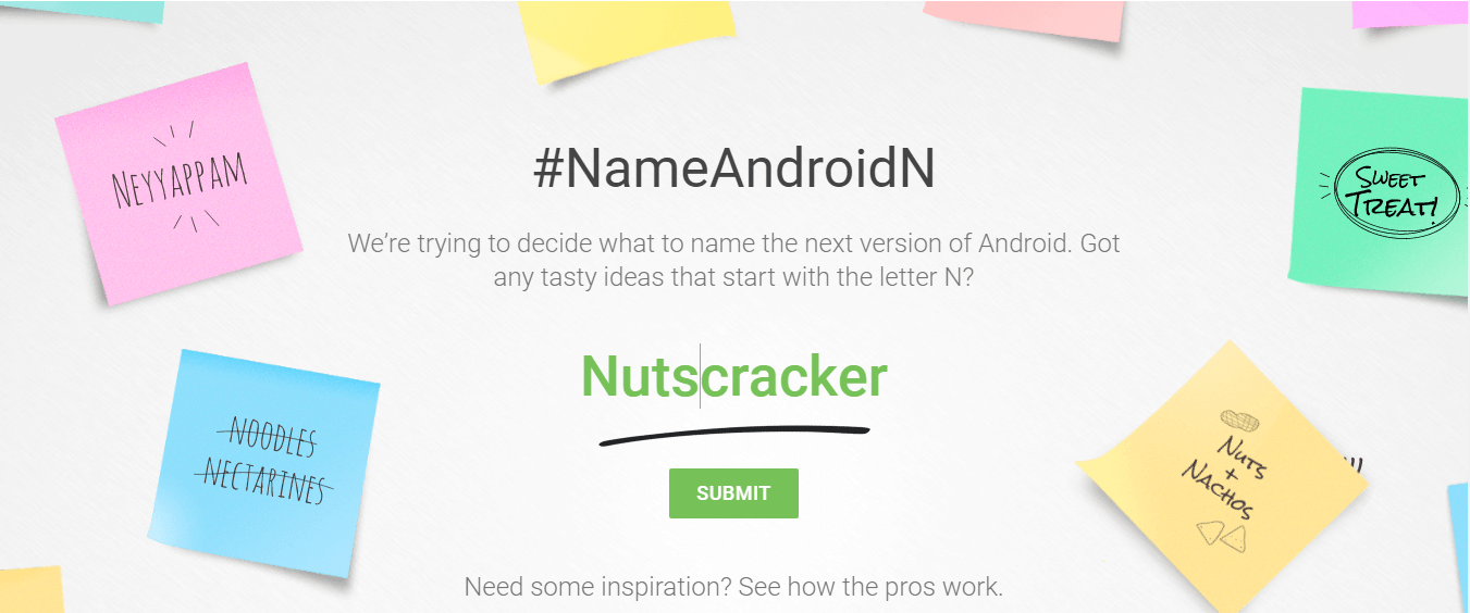 Google needs your help to name Android N