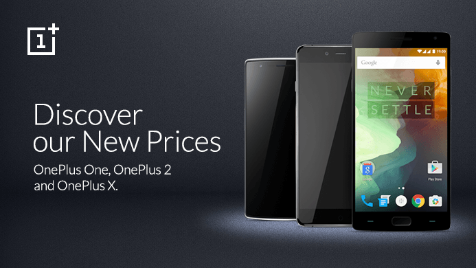 All Oneplus Devices are now available at Lower Prices