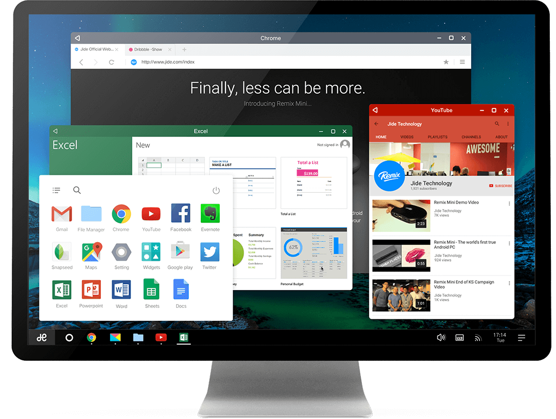 Remix OS for PC Gets Android Marshmallow Update