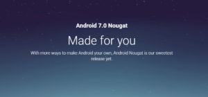 Android Nougat Released