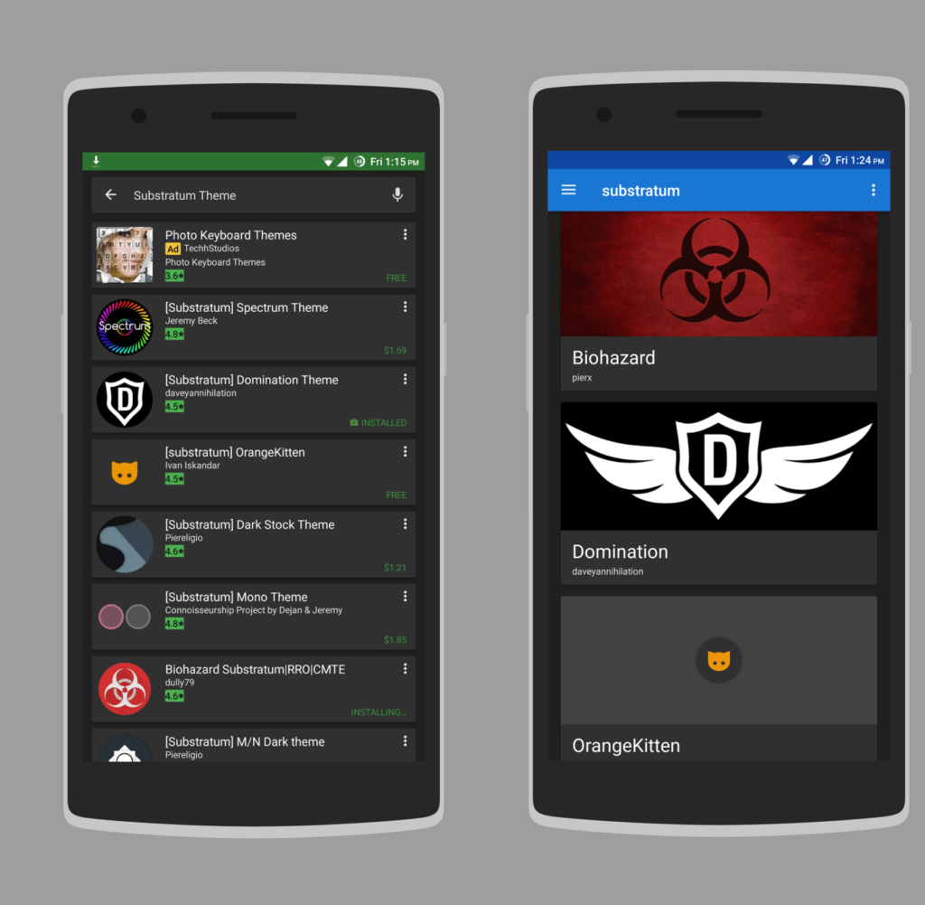 Download Substratum Themes