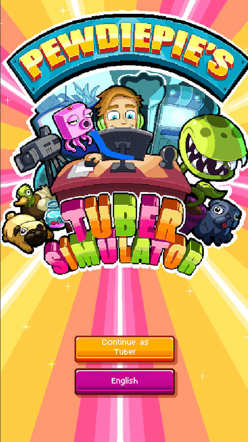 Pewdiepie's Tuber Simulator is available to download for iOS /Android