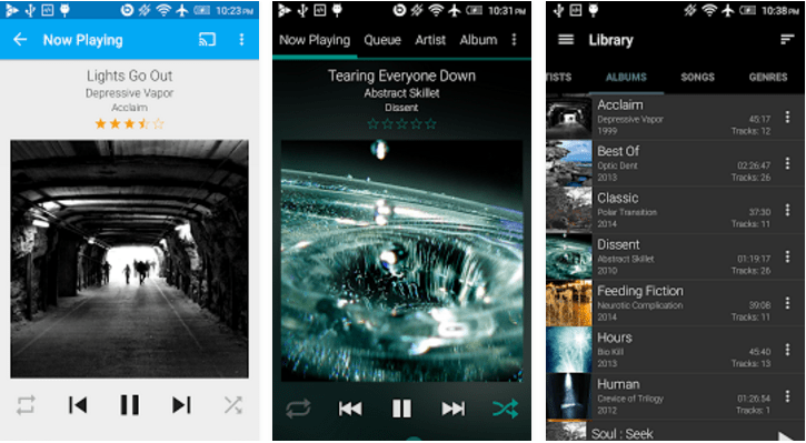 GoneMAD Music Player App for Android