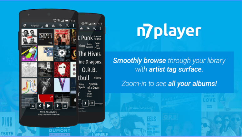 n7player Music Player App for Android