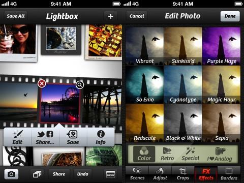 Camera Plus App for iPhone