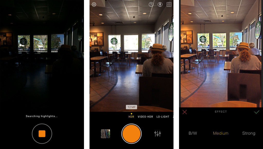 Hydra Camera App for iPhone