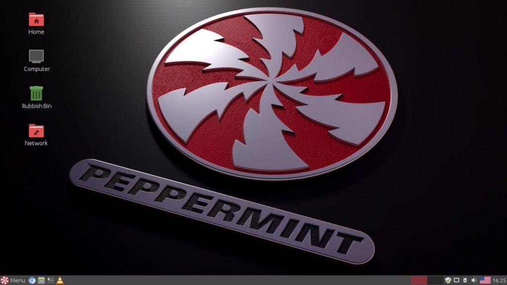 Peppermint OS Screen