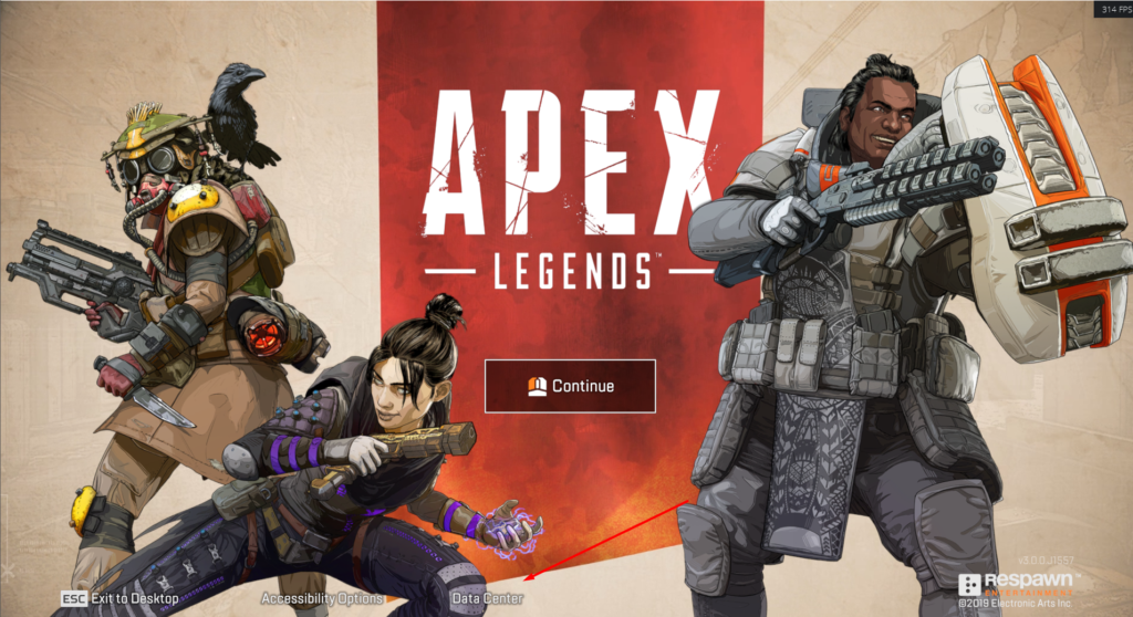 Data Center Apex Legends