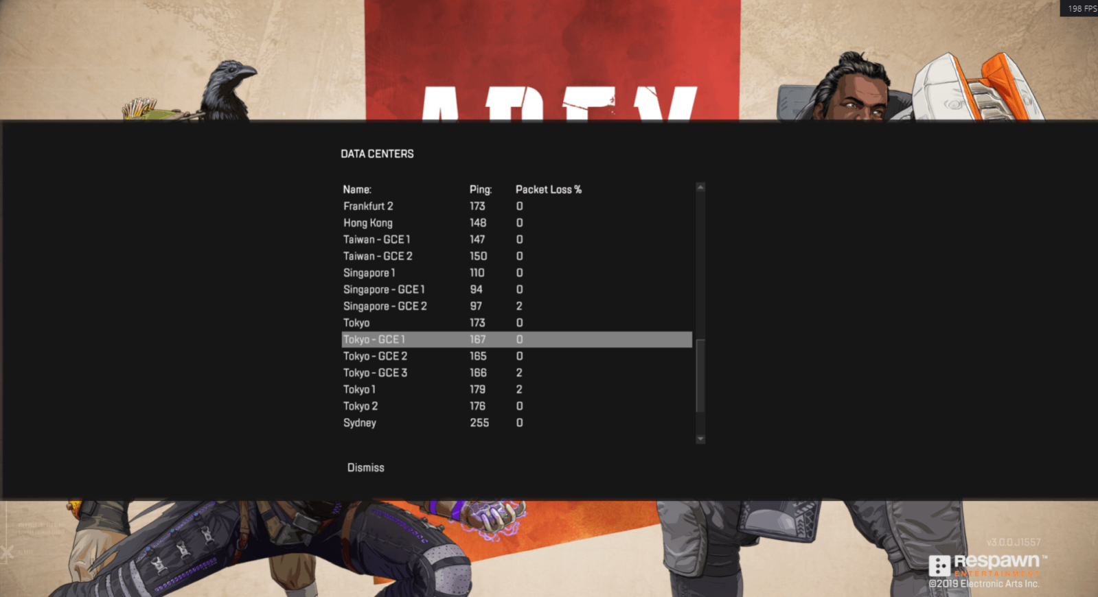 How to see Ping and FPS in Apex Legends