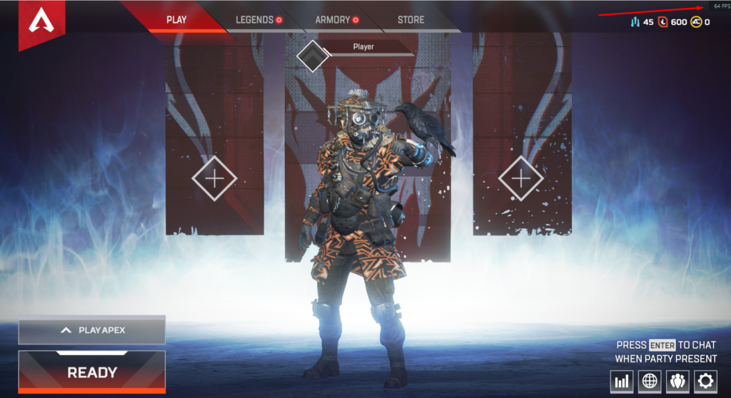 Origin FPS in-game Apex Legends