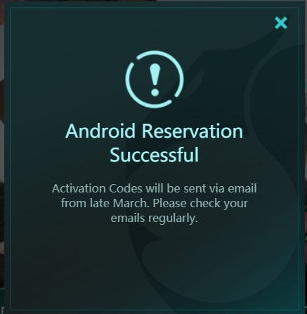 Android Reservation Auto Chess Mobile