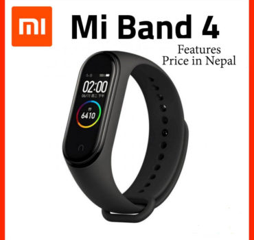 Xiaomi Mi Band 4 Features and Price in Nepal